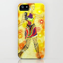 Psychedelic Dancer  iPhone Case