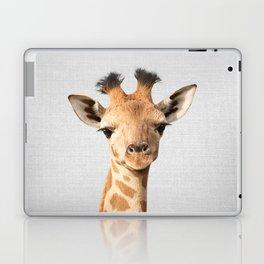 Baby Giraffe - Colorful Laptop & iPad Skin