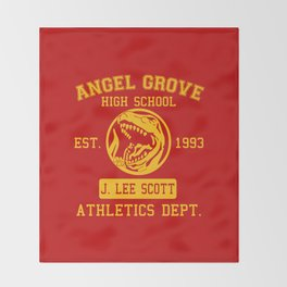 Angel Grove Throw Blanket