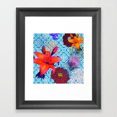 old flowers Framed Art Print
