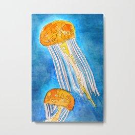 Do Jellyfish like Marmalade? Metal Print