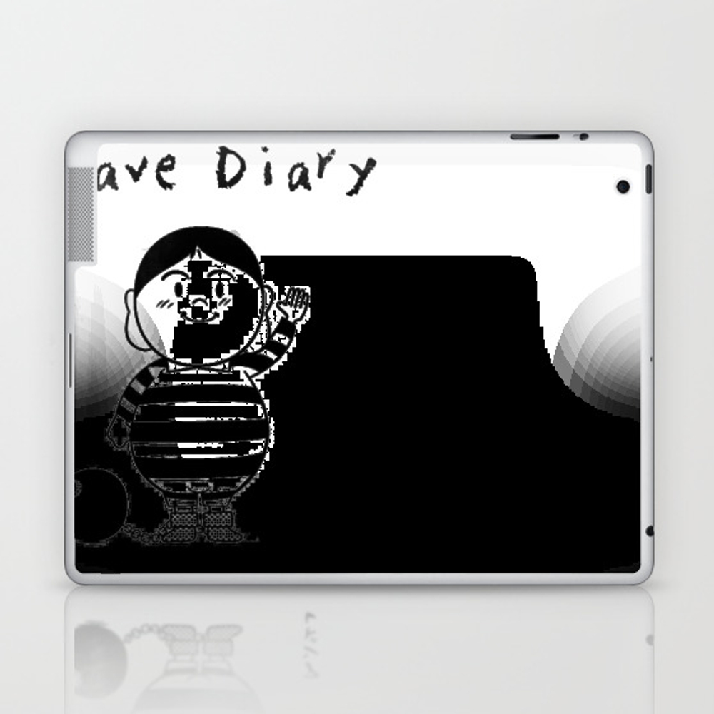 Slave Diary Laptop & Ipad Skin by Psychodelicia LSK8573360