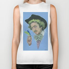 GENE WILDER IS AWESOME Biker Tank