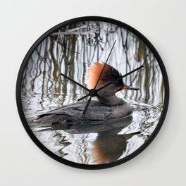 A Touch of Auburn Wall Clock
