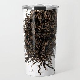Messy dry curly hair 2 Travel Mug