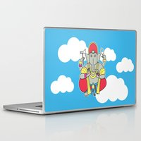 ganesh Laptop & iPad Skins featuring Ganesh by thestalewhale