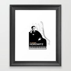 Vladimir Horowitz Framed Art Print