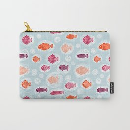 School Of Fish Kids Carry-All Pouch