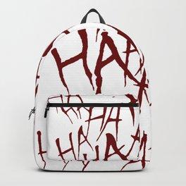 The Joker Laugh Red Backpack