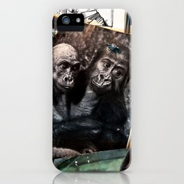 Melody for a Monkey - BERLIN - Germany iPhone Case