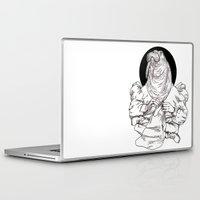 walrus Laptop & iPad Skins featuring Walrus by Hopler Art