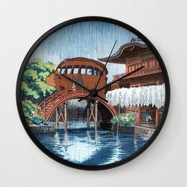 Nekobasu Catbus Wall Clock
