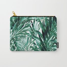 Botanical Green Carry-All Pouch