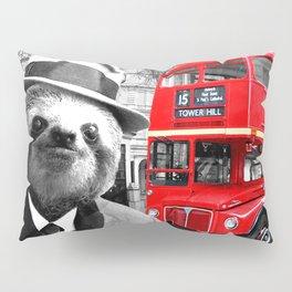 Sloth in London Pillow Sham