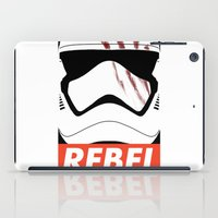 rebel iPad Cases featuring REBEL by Bertoni Lee