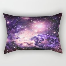 Fox Fur Nebula : Pink Purple Galaxy Rectangular Pillow