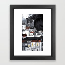 This Way Home Framed Art Print