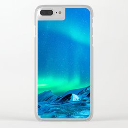 Northern Lights (Aurora Borealis) 3. Clear iPhone Case