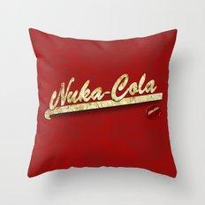 Nuka-Cola Throw Pillow