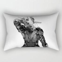 Racer Girl Rectangular Pillow