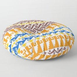 grecas de mitla Floor Pillow