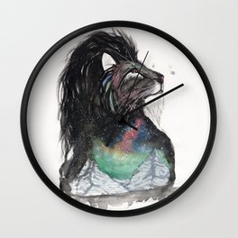 Realis the Aurora Lion. Wall Clock
