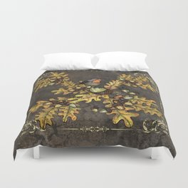 History of the autumn forest+5 Duvet Cover