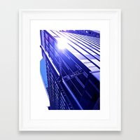 suits Framed Art Prints featuring Suits by Kelsey Pohlmann