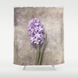 Light Purple Hyacinth Shower Curtain