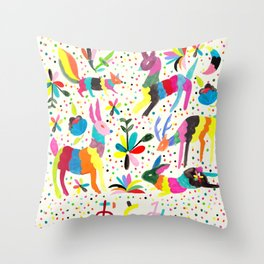 Otomi Throw Pillow