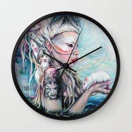 Yolandi The Rat Mistress  Wall Clock