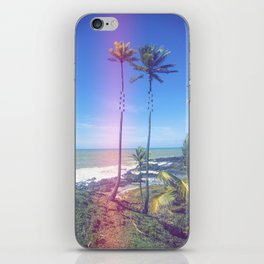 Fragmented Palm iPhone Skin