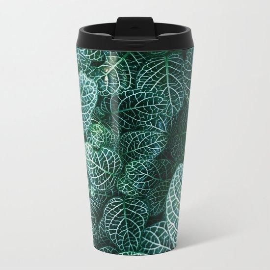 Curtain Pattern 04 Metal Travel Mug