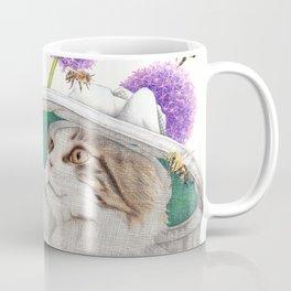 Bee Cat Coffee Mug