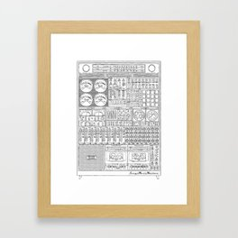 Music Machine Framed Art Print