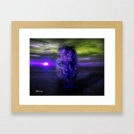 Depressive Feelings Framed Art Print