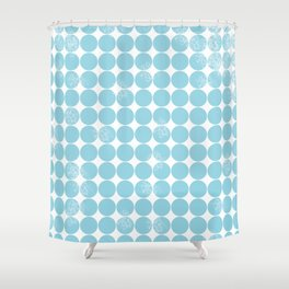 Dot Pattern Shower Curtain
