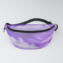 """Violet pastel sweet heaven and clouds"" Fanny Pack"
