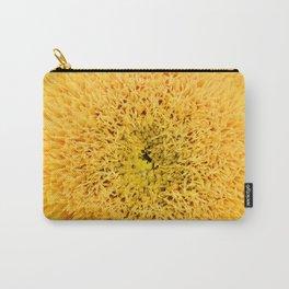 Teddy Bear Sunflower Petals Carry-All Pouch