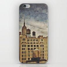 Water towers iPhone & iPod Skin