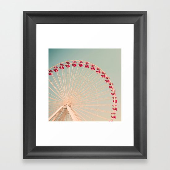 The Great White Framed Art Print