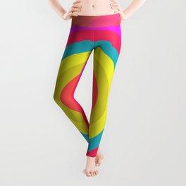 Pink Radial Leggings