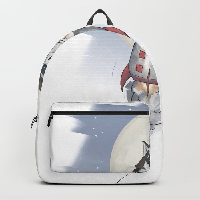 The cool Husky Pilot Backpack