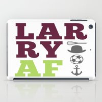 larry stylinson iPad Cases featuring Larry AF - Harry Styles and Louis Tomlinson by pretty.