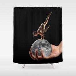 Handstand Shower Curtain