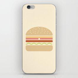 #62 Hamburger iPhone Skin