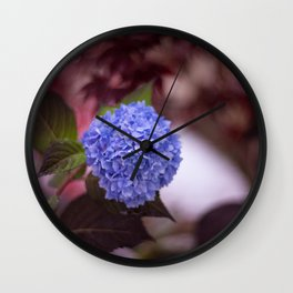 Flower Poof Wall Clock