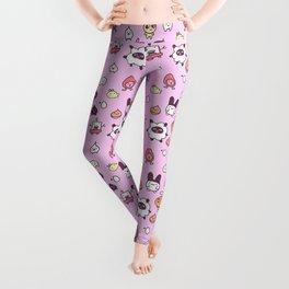 Tamagotchi Pattern Leggings