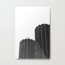 Marina City Metal Print