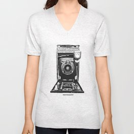 Old Time Photography Unisex V-Neck